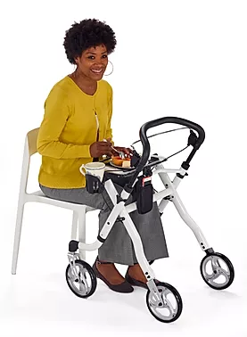Tray can be used as a  support table of Comodita Avanti Walker Rollator