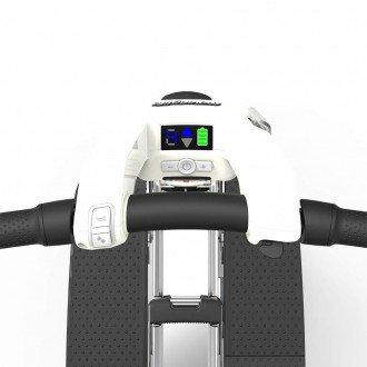 Atto travel scooter handlebars and control panel