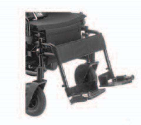 How to Assemble and Operate the Drive Cirrus Plus EC Power Wheelchair