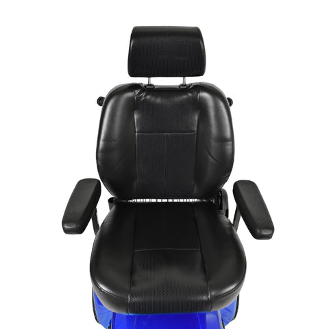 Luxurious captain seat for mobility scooter