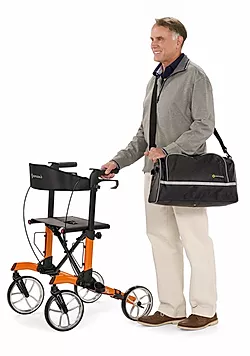 Removable, washable nylon bag to transport  personal items of Comodita Tipo Classic Walker Rollator