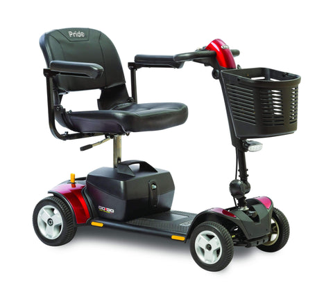 Pride Mobility: Go-Go Elite Plus Traveler 4 Wheel Scooter - SC54
