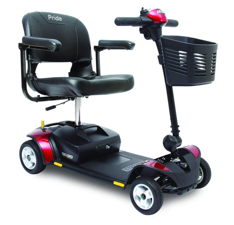 Pride Mobility: Go-Go Elite Traveler 4 Wheel Scooter - SC44E