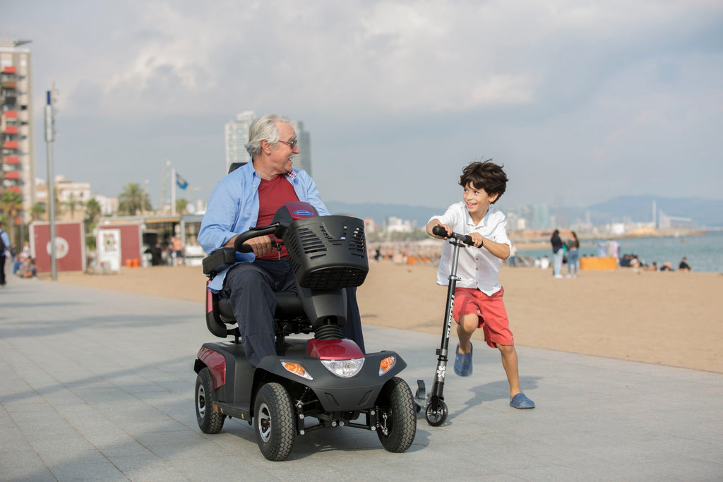 renting a mobility scooter on vacation