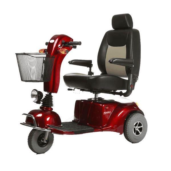 Merits Pioneer 9 Heavy Duty Mobility Scooter with Flat-Free Tires