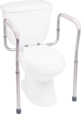 Compass Health: ProBasics Toilet Safety Frame 300 lb Weight Capacity, 4/cs - BSTF Main View