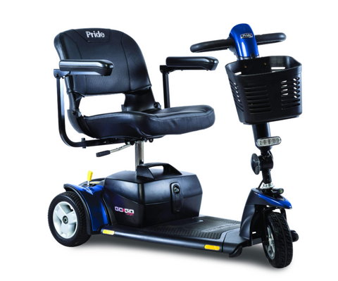 Pride Mobility: Go-Go Sport 3-Wheel - Mobility Scooters Store