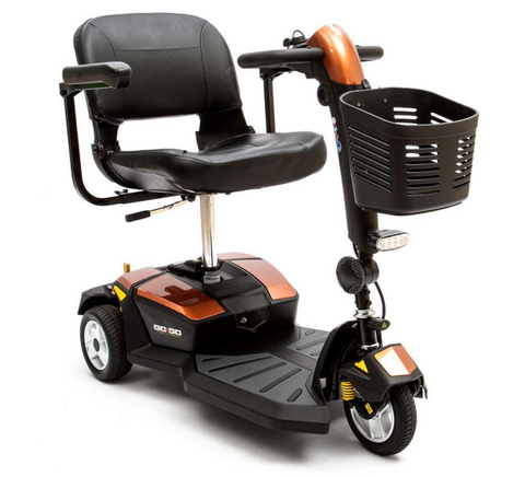 Pride Mobility: Go-Go LX 3-Wheel - Mobility Scooters Store