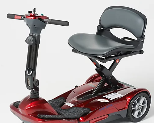 less comfortable folding mobility scooter seat