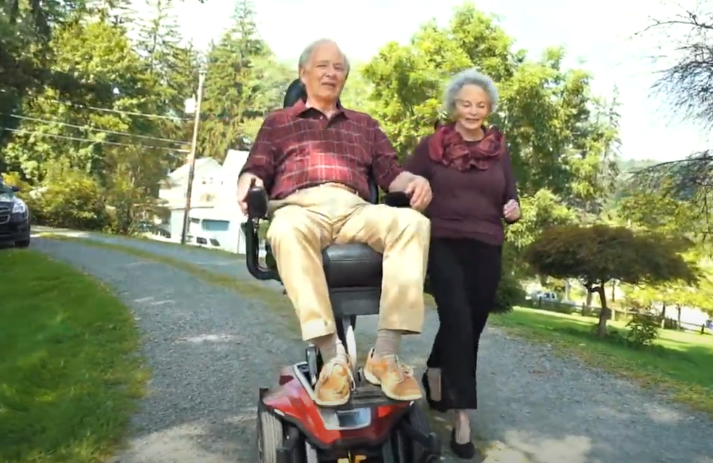Wellbeing with wheelchair with power lift
