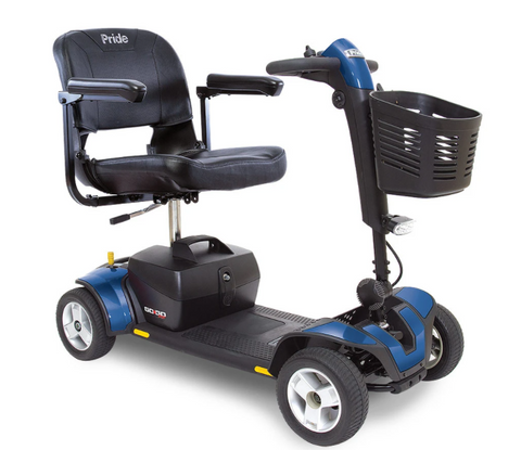 Pride Mobility: Go-Go® Sport 4-Wheel - S74 - Blue Color