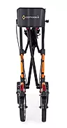 Double-fold action of comodita Tipo petite walker Rollator