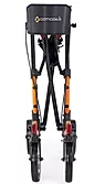 Double-fold action of Comodita Tipo Classic Walker Rollator