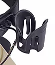 Cane holder and cup holder included of Comodita uno classic rollator