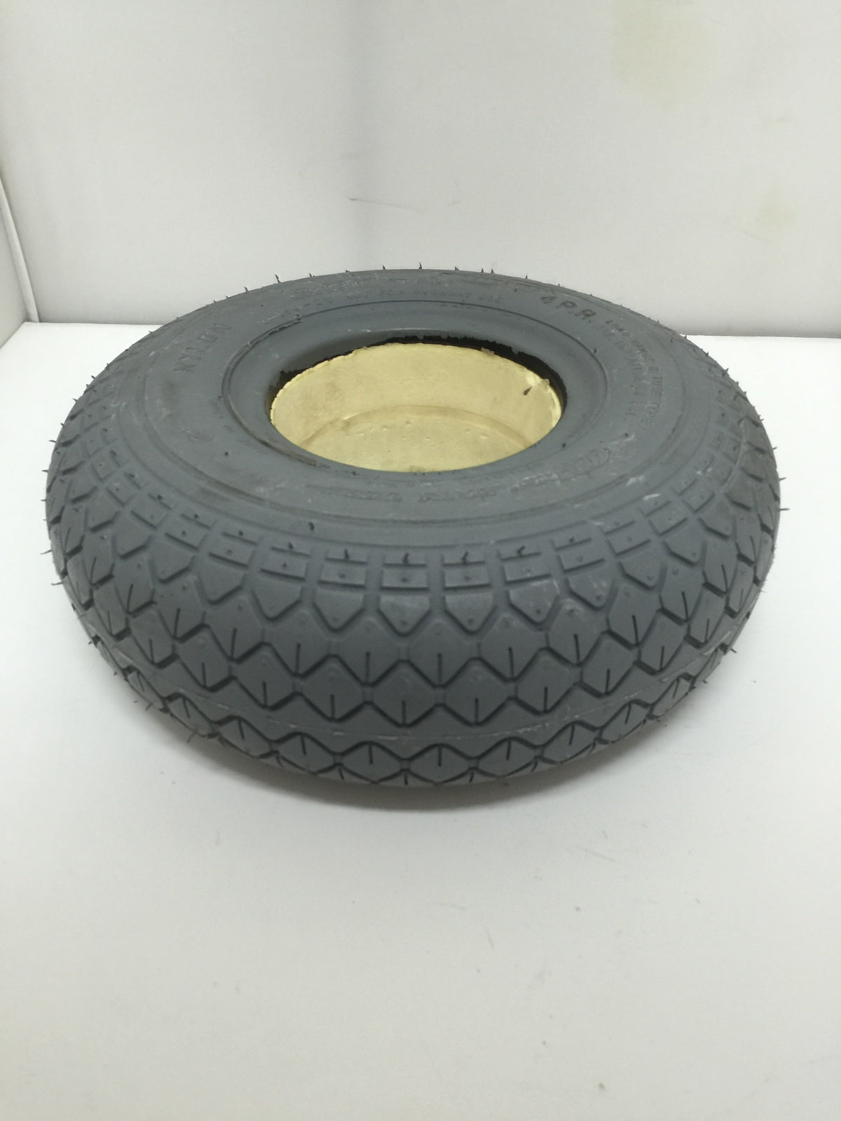 Foam filled tire of mobility scooter