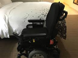Transfering from power chair to bed