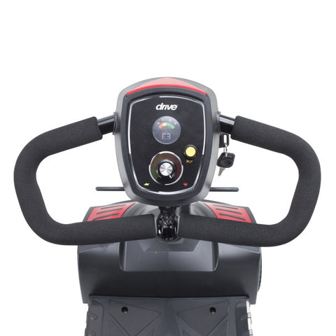 drive medical scout scooter control panel and handle bars