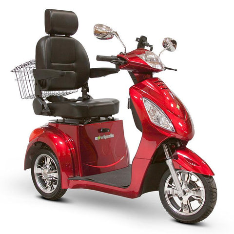 E-wheels mobility scooter red