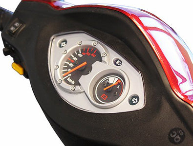 Control panel of EW-66 Two-Seat Mobility Scooter