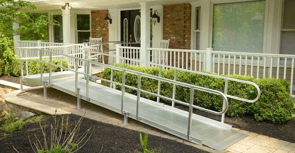 make you home wheelchair accessible with a ramp