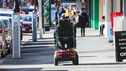 mobility scooters do not require licenses