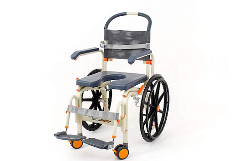 ShowerBuddy Self-Propelled Roll-In Shower Commode