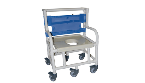 Healthline Medical Shower Commode Chair 600lb Capacity