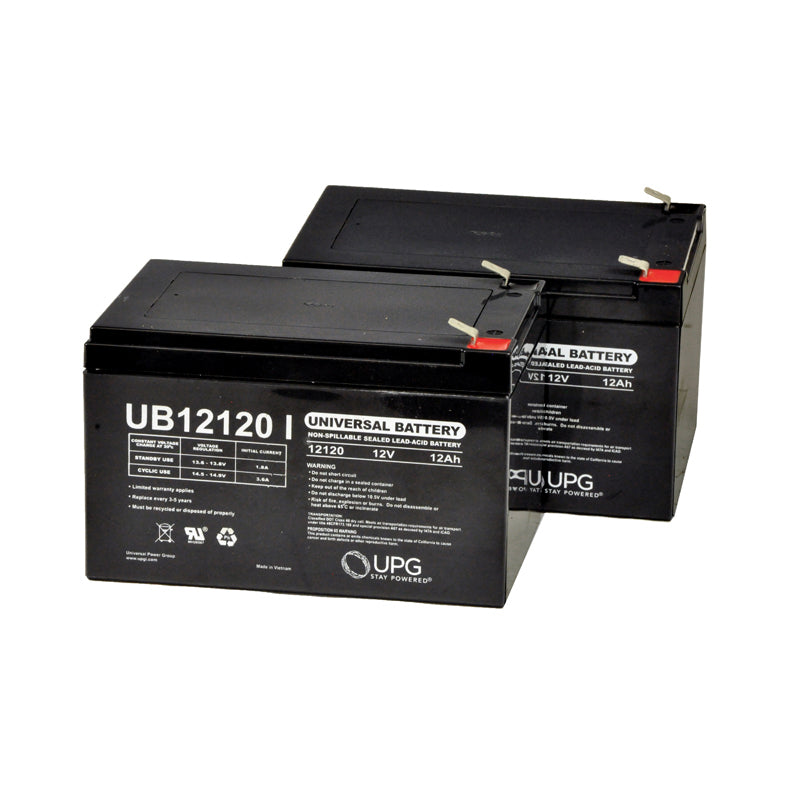 Sealed lead acid batteries used in mobility scooters