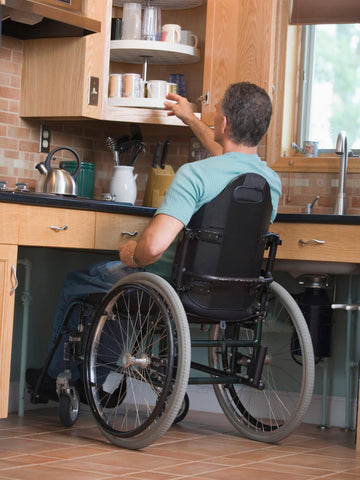 how to make your kitchen wheelchair accessible
