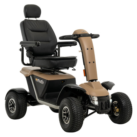 Pride Mobility's Wrangler Highlights: Strong Enough for Your Adventure