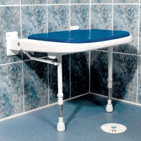 AKW: Wide Padded Fold-Up Shower Seat