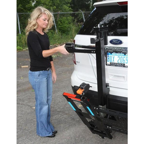 Wheelchairs Carrier: Electric Tilt 'N Tote - Mobility Scooters Store