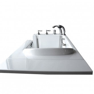 "Bathworks: Basic Walk-in Tub 52"" x 30"" x 40"" Low Threshold"