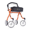 Image of Comodita: Avanti Walker Rollator - COM 800 Orange  Side View