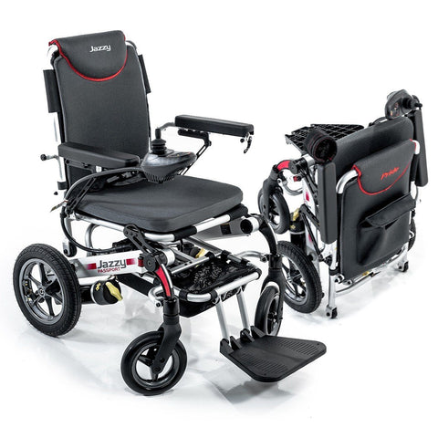 Pride Jazzy Passport Power Chair Pride Mobility wheelchair - Scooters 'N Chairs