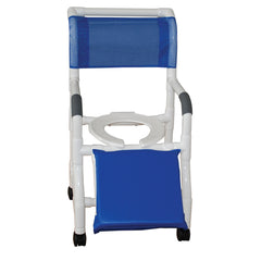 MJM International: Shower Chair for Uni-Lateral or Bi-Lateral Below Knee Amputee - 118-3-A - Actual Image