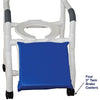 Image of MJM International: Shower Chair for Uni-Lateral or Bi-Lateral Below Knee Amputee - 118-3-A - Parts Overview