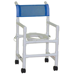 "MJM International: Folding Shower Chair Allows for ""No More Crowded Shower Rooms"" - 118-3-FD - Actual Image"