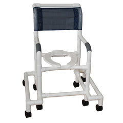 "MJM International: Shower Chair with Outriggers ""Outriggers Provide Maximum Stability"" - 118-3-SAFE - Actual Image"