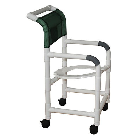 MJM International: Shower Chair with Tilt Seat - 118-3-TS - Actual Image