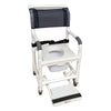 Image of MJM International: Universal Shower Chair - 118-3TL-VS-BB-18-SQ-PAIL-SF - Actual Image