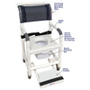 Image of MJM International: Universal Shower Chair - 118-3TL-VS-BB-18-SQ-PAIL-SF - Parts Overview
