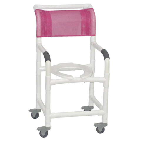 MJM International: Superior Shower Chair with Total Lock Casters - 118-3TL - Actual Image