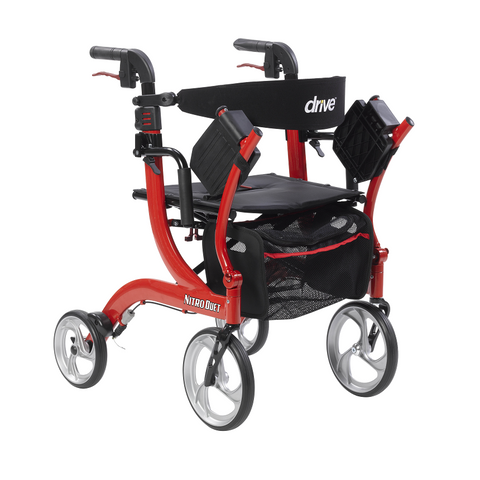 Drive Medical: Nitro Duet Rollator and Transport Chair