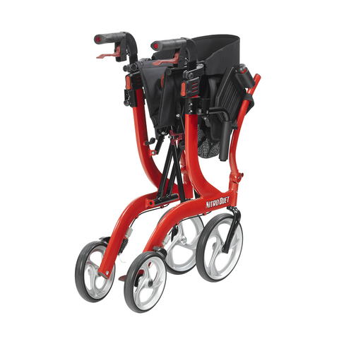 Drive Medical: Nitro Duet Rollator and Transport Chair - RTL10266DT