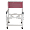 Image of MJM International: Superior Knockdown Mid Size Shower Chair - 122-3-KD - Actual Image