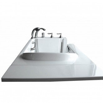 "Bathworks: Basic Walk-in Tub 53"" x 26"" x 36"" Low Threshold"