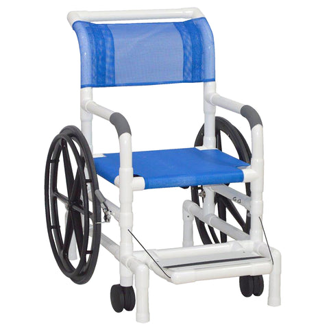 MJM International: Multi-Purpose Chair (Will Serve as A Shower Chair, Transferchair and Pool Access) - 130-18-24W-SL - Front View