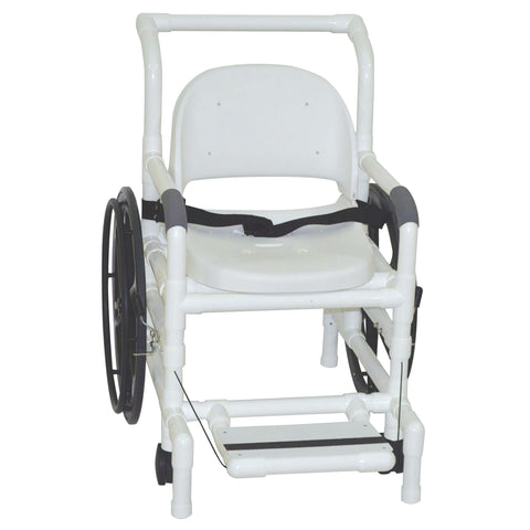 MJM International: Multi-Purpose Chair (Shower Chair, Transferchair and Pool Access) - 131-18-24W-FS - Front View