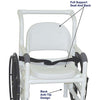 Image of MJM International: Multi-Purpose Chair (Shower Chair, Transferchair and Pool Access) - 131-18-24W-FS - Parts